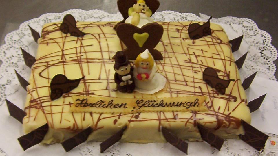 Hochzeitstorte, Konditorei Friedrichshafen, Backstube Weber, Süße Verführung